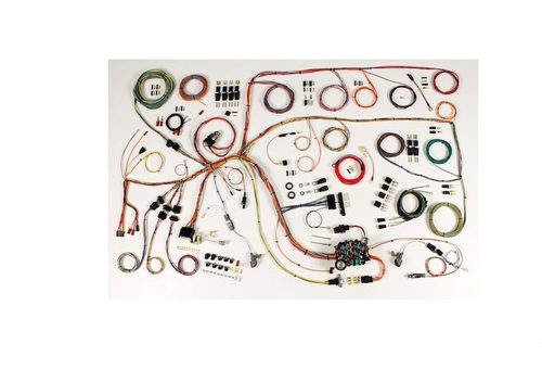 American Autowire 1960-64 Ford Falcon & 1960-65 Mercury Comet Classic Update Complete Wiring Harness