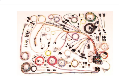 American Autowire 1965 Chevy Impala Classic Update Complete Wiring Harness