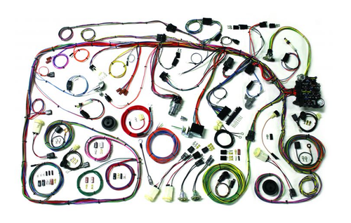 American Autowire 1973-79 Ford Truck & 1978-79 Ford Bronco Classic Update Complete Wiring Harness