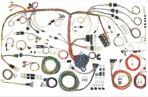American Autowire 1970-74 Mopar E Body Classic Update Complete Wiring Harness