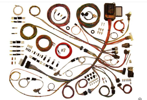 American Autowire 1961-66 Ford Truck Classic Update Complete Wiring Harness