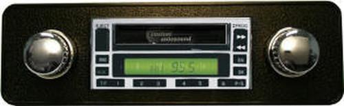 Custom AutoSound USA-630 for a MGB AM/FM 93