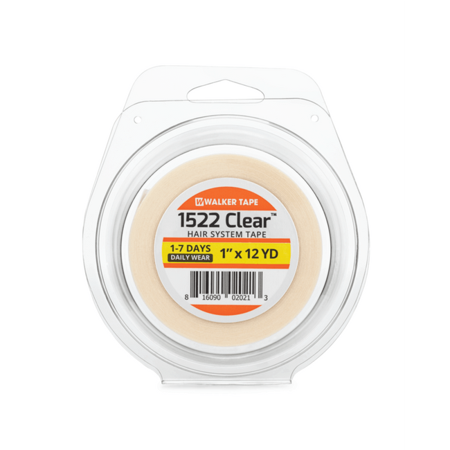 """Clear 1"""" x 12 yards Tape Roll"""
