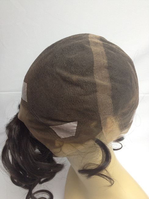 Women's French Lace Full Head Wig Custom