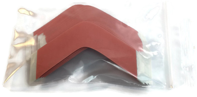 Red Sensi-Tak Hairpiece Tape Contour B