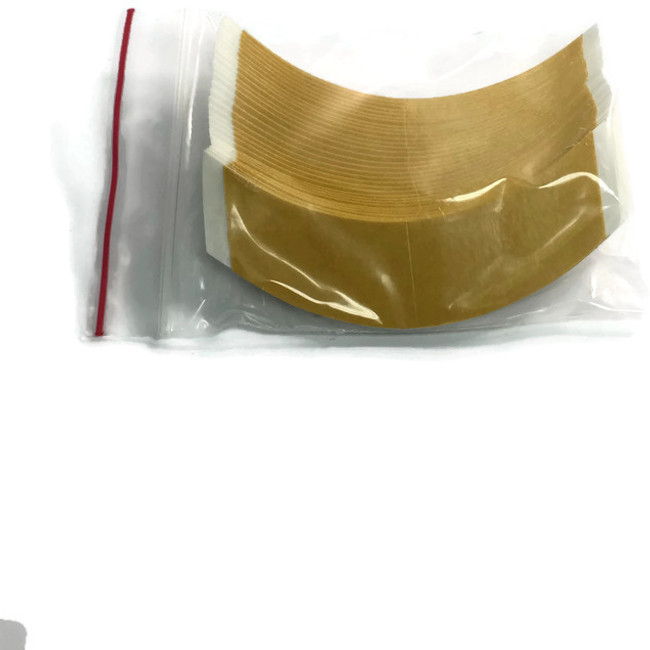 Brown Liner White Cloth Hairpiece Tape Contour CC