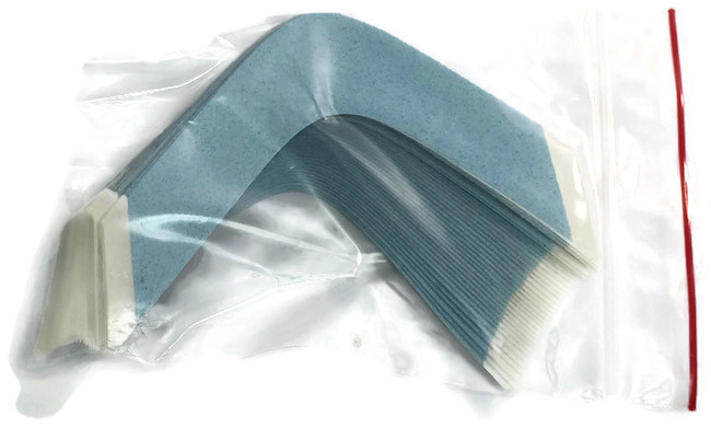 Blue Lace Hairpiece Tape Contour BB