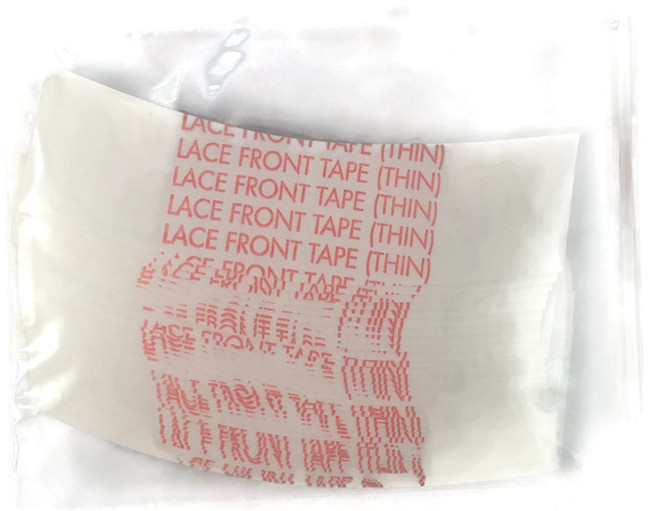 Lace Front Thin Hairpiece Tape 3 mil