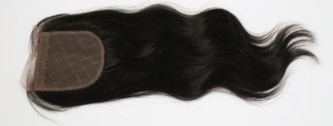 "Brazilian Virgin Remy Lace Closure 3 1/2"" x 4"""