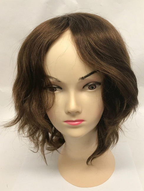 Women's Custom Hair System, French Lace, Poly Perimeter