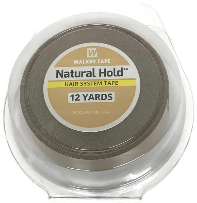 "Walker Natural Hold Tape Roll 3/4"" x 12 yards"