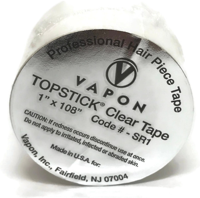 "Vapon TopStick Clear Roll 1"" x 108"""