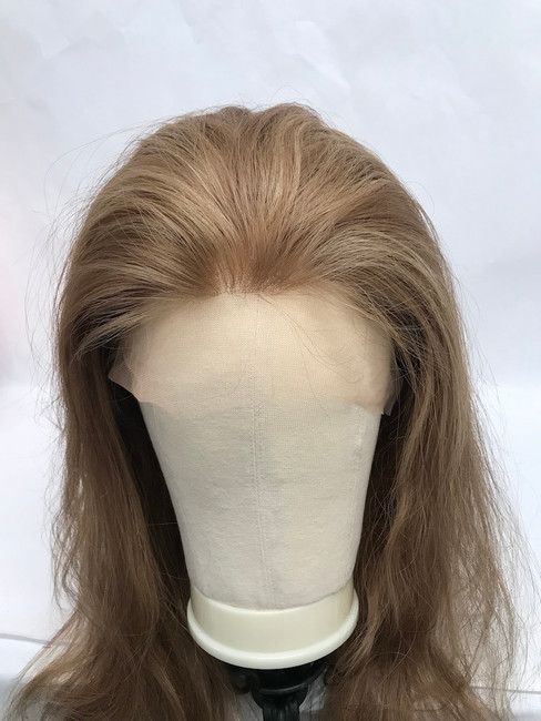 "French Lace Wig, 18"", color L10-16, Straight"