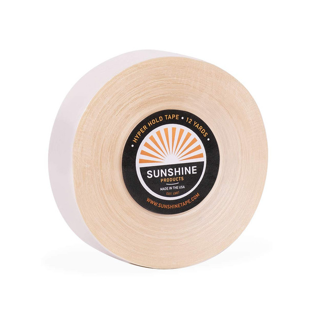Sunshine Hyperhold Tape Roll 3/4 x 12 yards