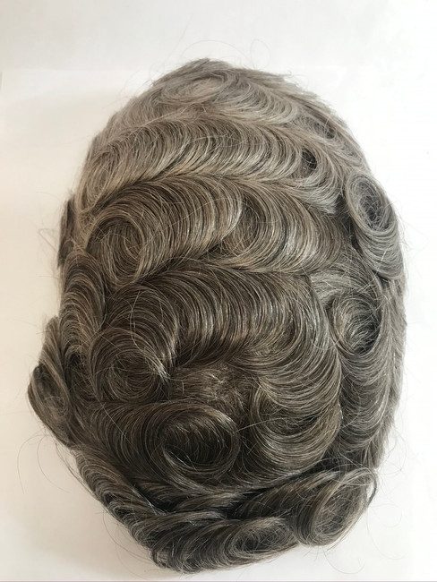 Men's Custom French Lace Hairpiece