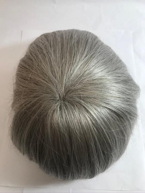 Men's Custom Fine Mono Mesh Hairpiece