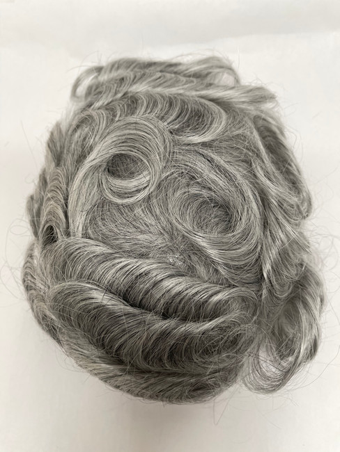 Men's Custom French Lace Hair System