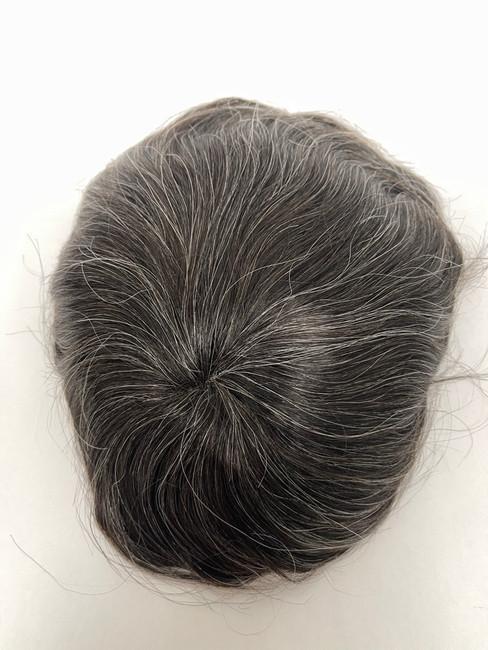 Men's Custom Hair System - Fine Mono Base