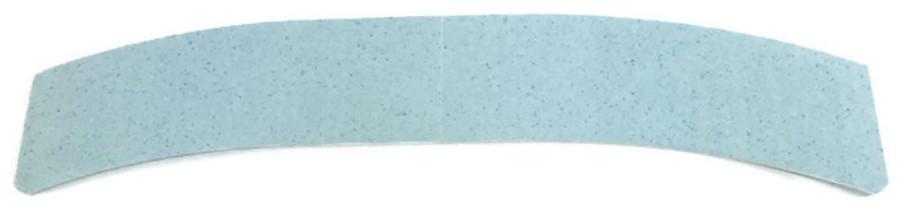 """Super Wide 5"""" Blue Lace Hairpiece Tape Contour C"""