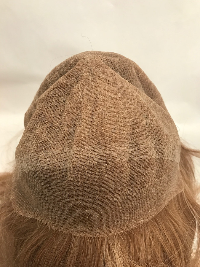 Women's French Lace Full Head Lace Front Custom