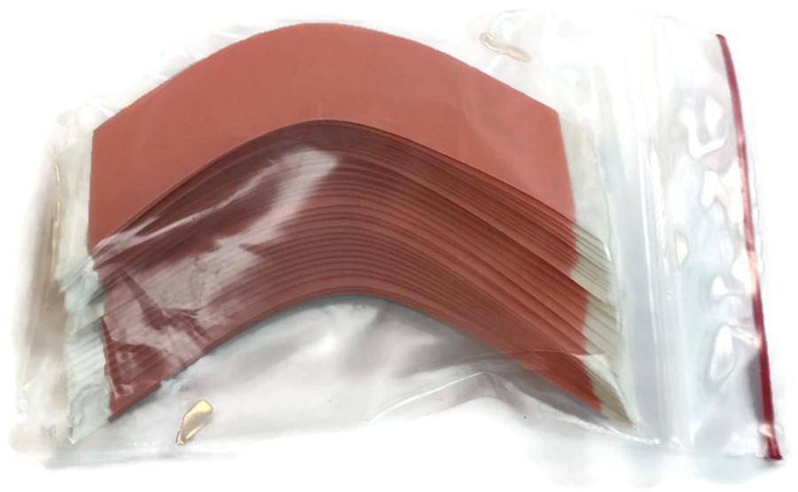 Red Sensi-Tak Hairpiece Tape Contour A