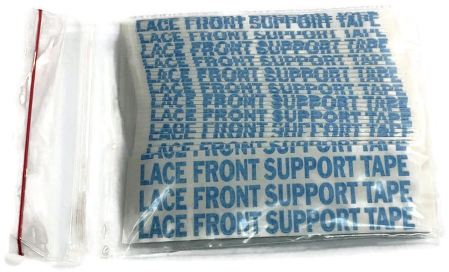 """Blue Lace Hairpiece Tape Contour D 1"""" x 3"""""""