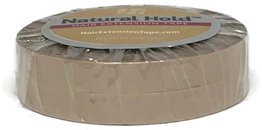 """Natural Hold Tape Roll - 1/4"""" x 6 yards"""