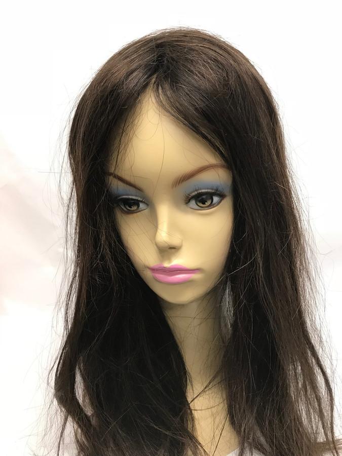 Women's Custom Hair System, Fine Mono, Poly Perimeter