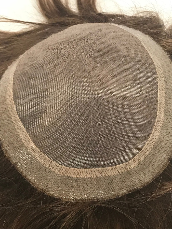 Women's Topper Hair System Fine Mono PU 360 (7406)