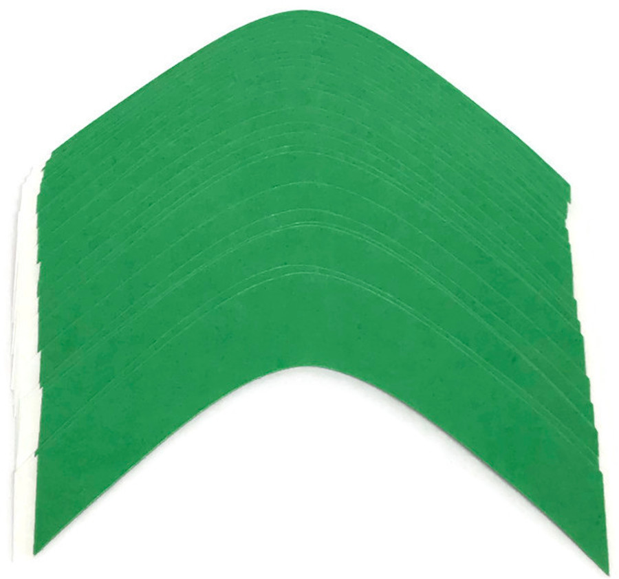"""Super Wide 5"""" Easy Green Hairpiece Tape Contour A"""