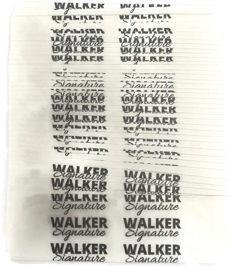Walker Signature Hair System Tape Contour D