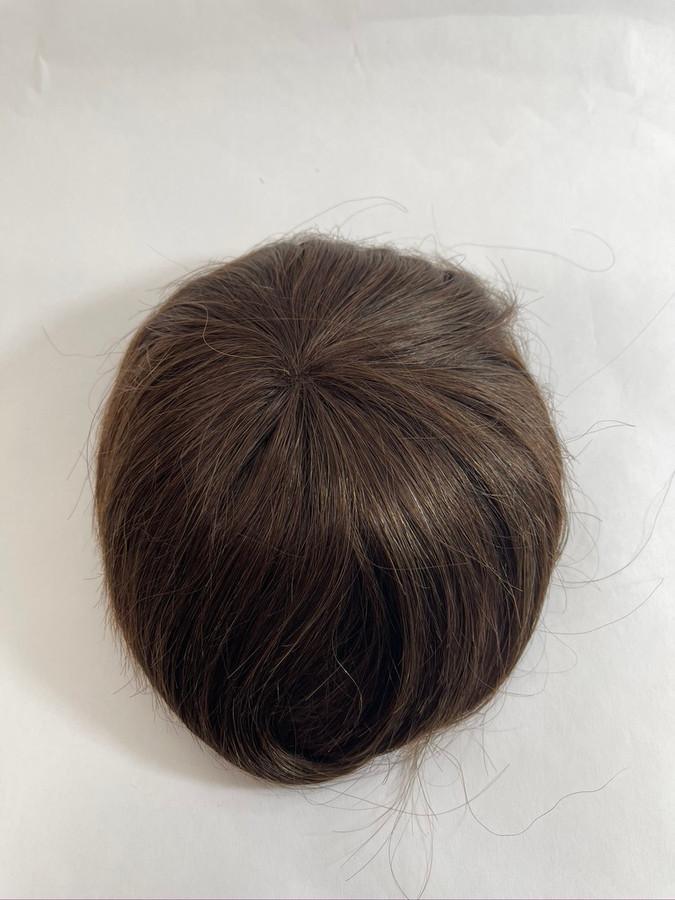 Women's Custom Top-of-Head Hair Systems Fine Mesh Nylon Perimeter