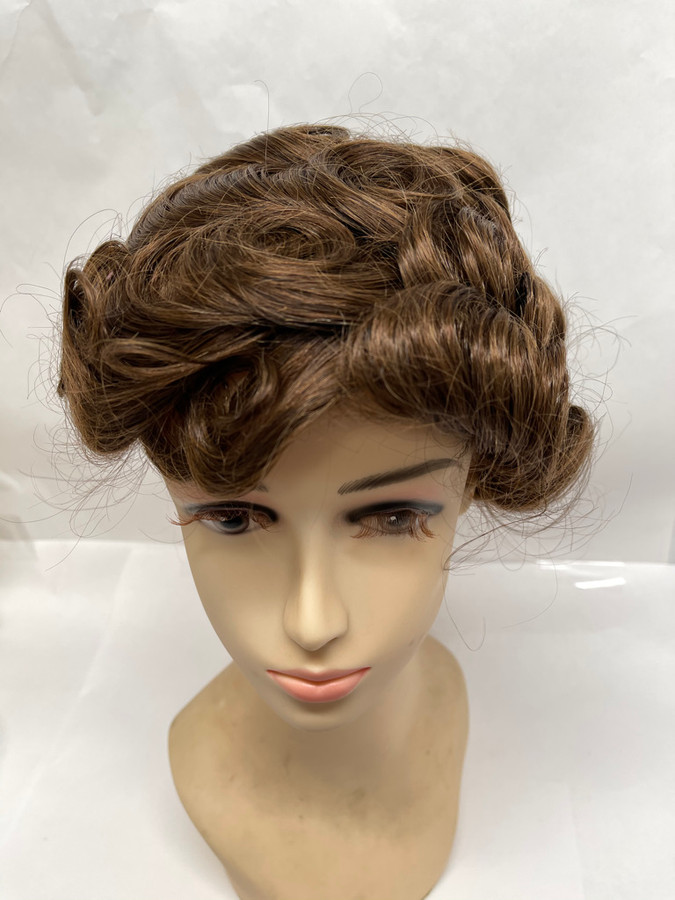 Women's Custom Full Head Wig with French Lace front