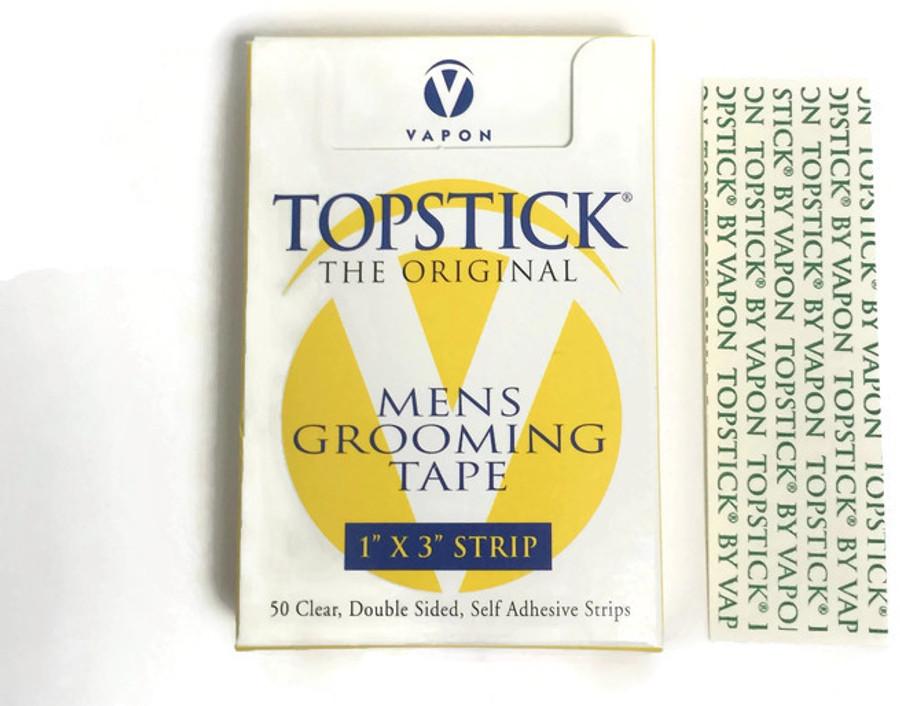 "Vapon Topstick 1"" x 3"" Straight Tape Strips (50 strips)"