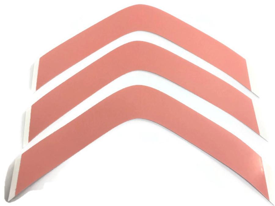 "Super Wide 5"" Red Sensi-Tak Hairpiece Tape Contour A"