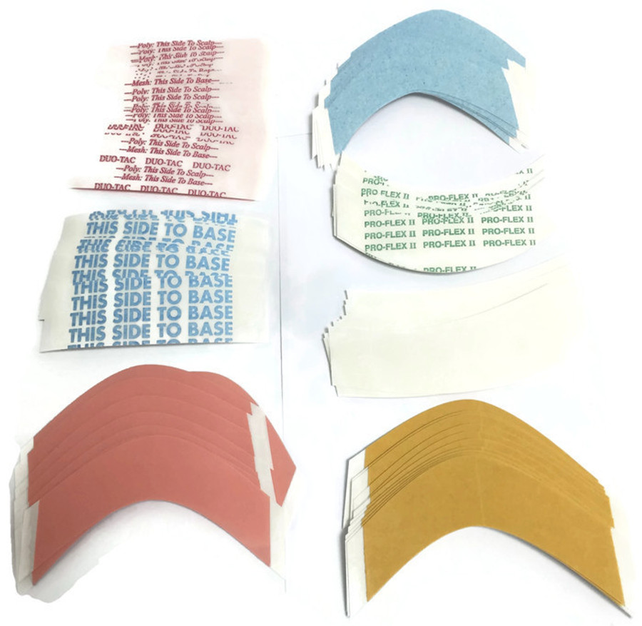 Contoured Hairpiece & Wig Tape