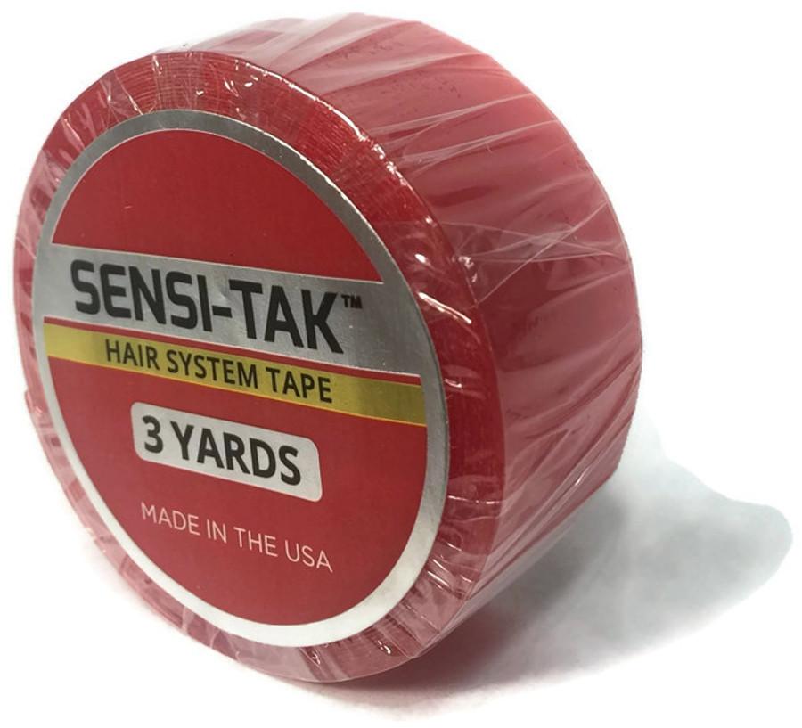 """Sensi-Tak Red Roll 3/4"""" x 3 yards"""