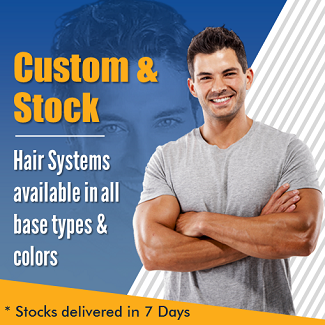 Men's Custom & Stock Hair Systems