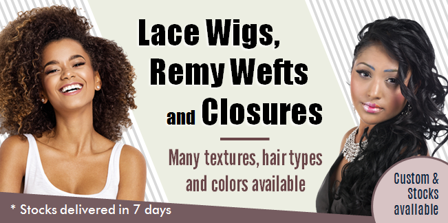 Women of Color Lace Wigs, Remy Wefts & Closures
