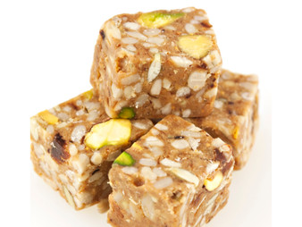 Honey Pistachio Believe Bites - Healthy and tasty with no added sugars. A positive snack.