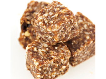 Organic Orange Chia Believe Bites - Positive snacking at BelieveBites.com - Energy Chunks Squares