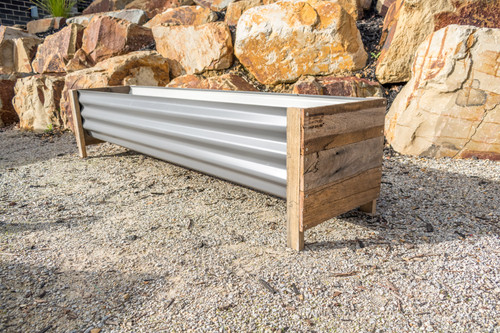 Rustic LARGE Planter Box - Colorbond