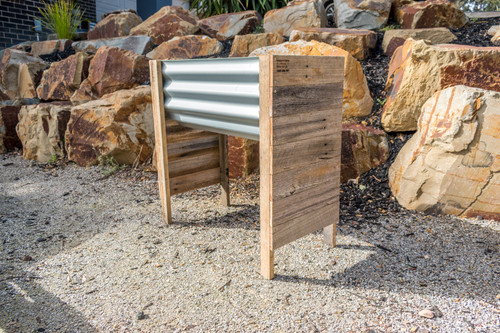 Rustic RAISED SMALL Planter Box