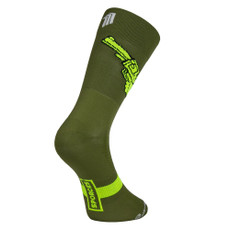 Sporcks WEAPONS Green Cycling Socks