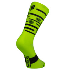 Sporcks SPINDLERS HUT Yellow Cycling Socks