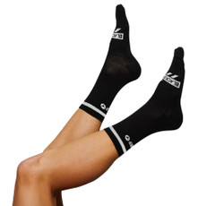 Black Sheep Black Reflective Socks