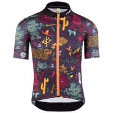 Q36.5 Cycling Jersey Short Sleeve G1 Fuego Navy