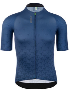 Q36.5  Short Sleeve Summer Cycling Jersey R2 Y - Navy