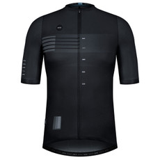 GOBIK Stark Man Black Shade Short Sleeve Cycling Jersey Front