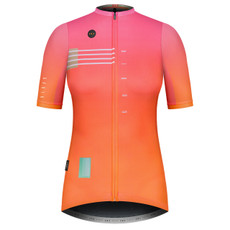 GOBIK Stark Woman Tulip Short Sleeve Cycling Jersey Front